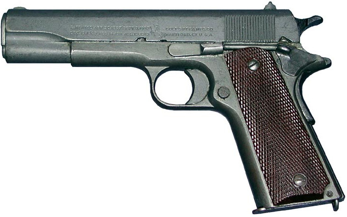 wwii Colt 1911 1911A1 military pistol
