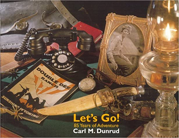 Carl Dunrud Let's Go Book Picture Holding 256 Newton Rifle Maine