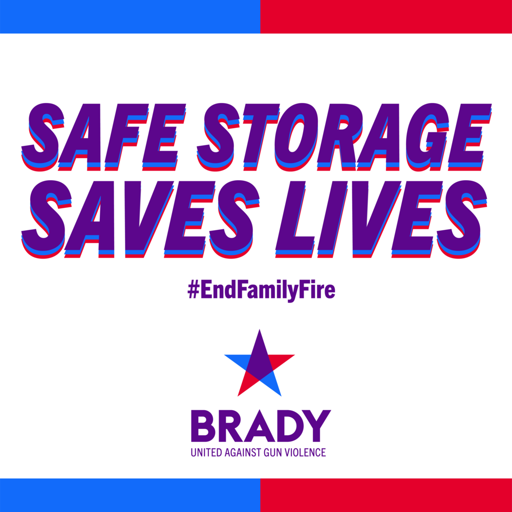 End Family Fire - Safe Gun Storage Saves Kids Childs Childrens Lives Maine
