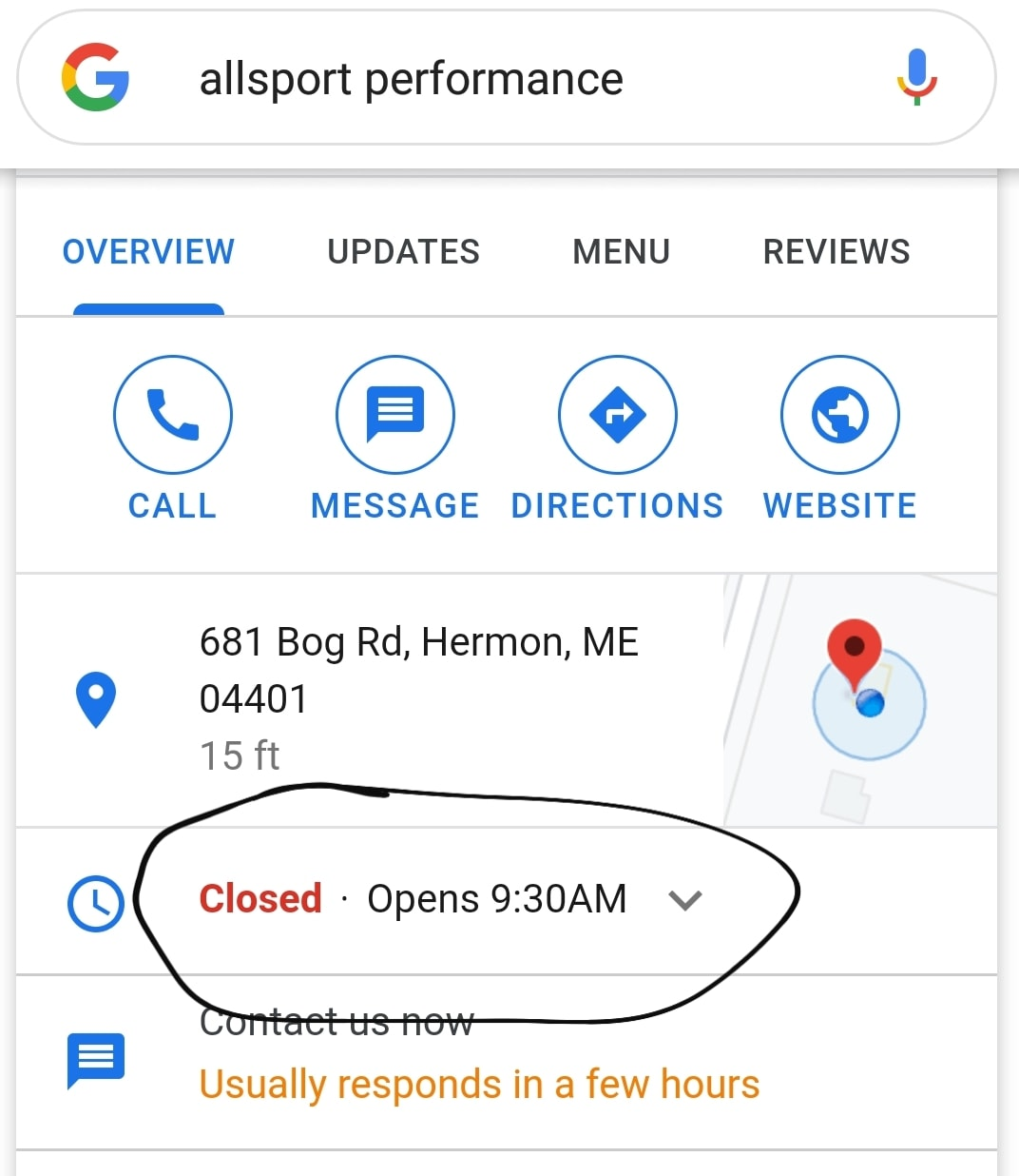 Google Gun Shop Business Hours Maine