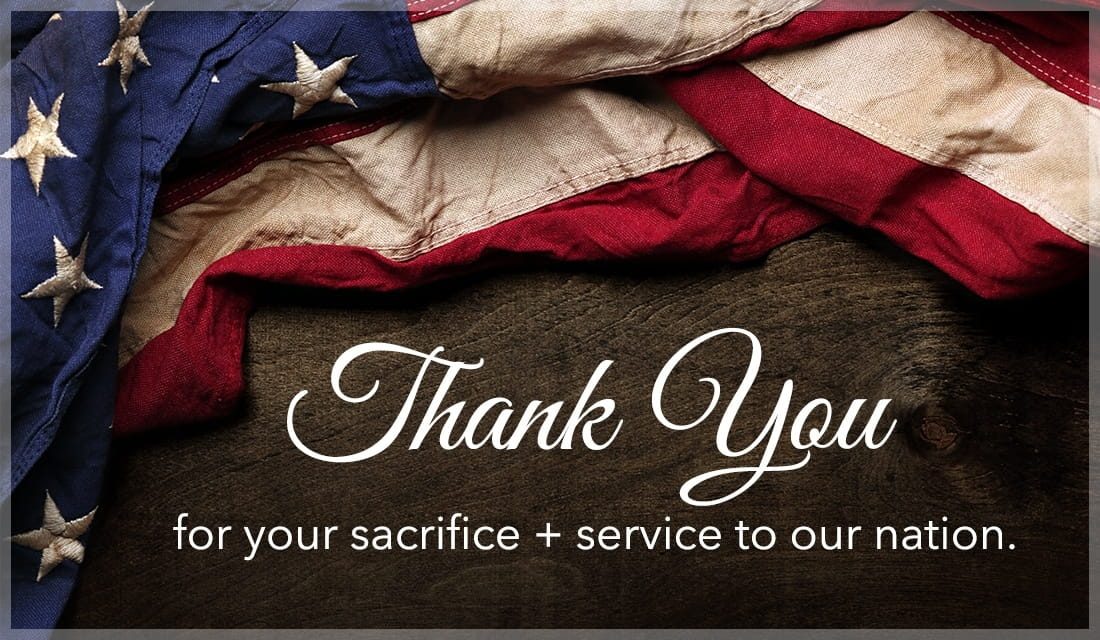 Thank you for your sacrifice and service maine veterans active-duty