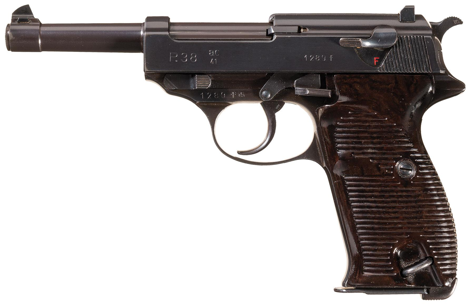 Walther P38 wwii Pistol Maine