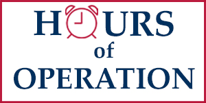 Hours of Operation Maine