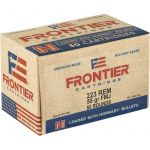 Frontier Cartridge 223 Rem 55gr FMJ 50rds Ammo