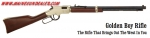 HENRY LEVER ACTION GOLDEN BOY .17HMR RIFLE H004V
