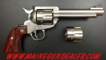 RUGER BLACKHAWK FLATTOP 357MAG / 9MM STAINLESS 5.5