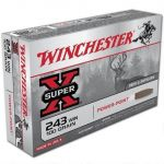 Winchester Power Point 243win 100gr 20rds