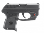 RUGER LCP 380 RED VIRIDIAN LASER 380acp