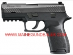 "SIG SAUER P320C COMPACT 9mm 15rd 3.9"" Black"