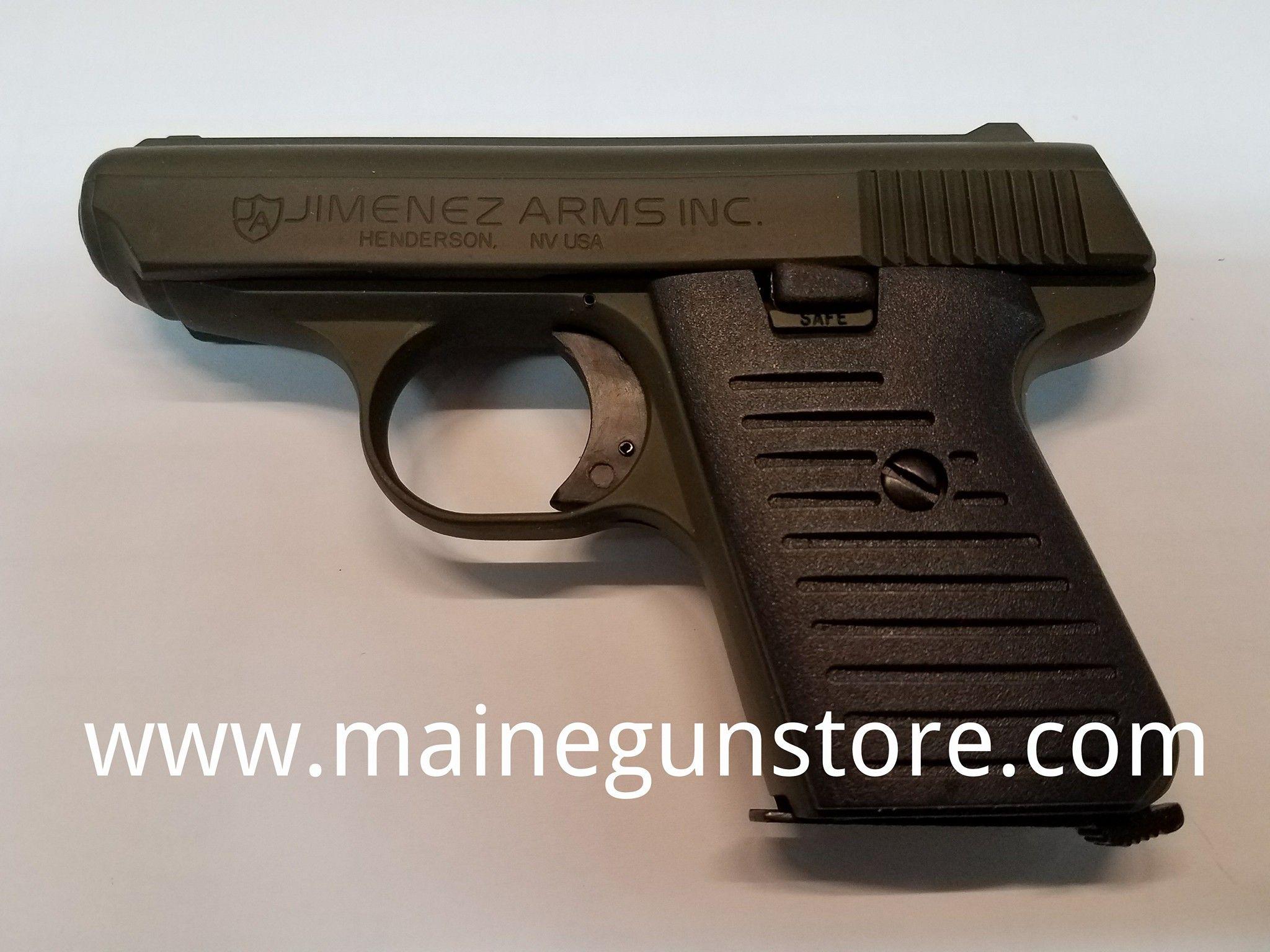 Jimenez Arms J A  22 22lr Sniper Green