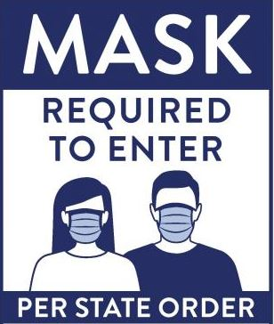 Mask Required Per Gov Janet Mills Maine