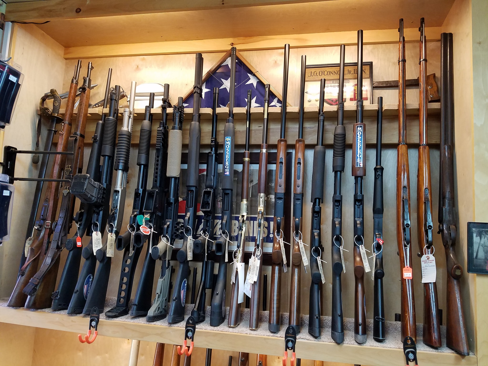 Maine Gun Dealer Firearm Rack 2