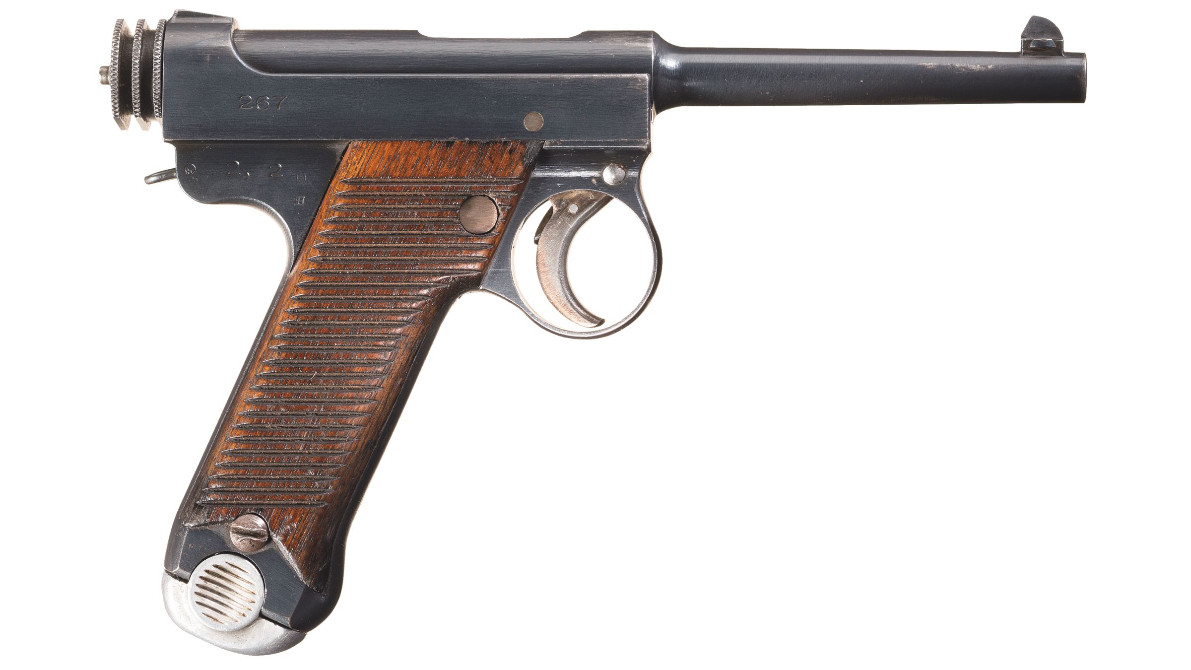 wwii Japanese Nambu 8mm Pistol Maine